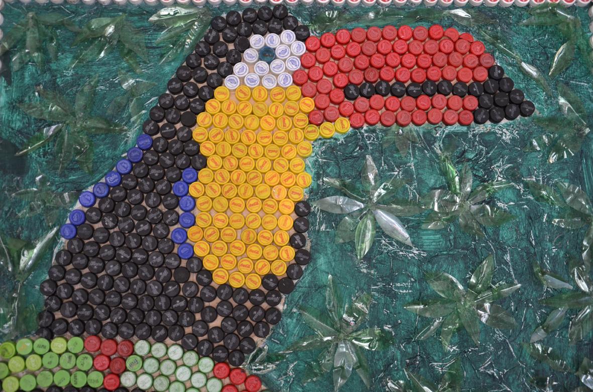 Arte Con Material Reciclado Para Ninos